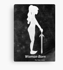 Woman Born The Video Game Canvas Print