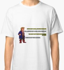 Guybrush Threepwood vs Meathook Classic T-Shirt