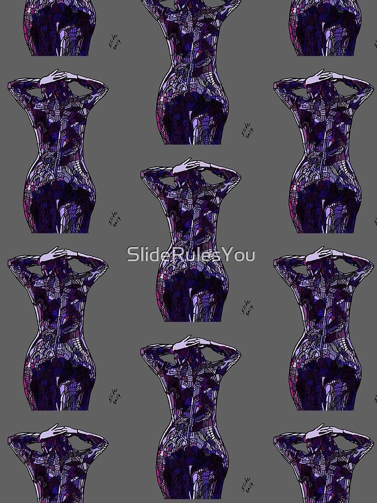 Purple Latex, 2014 by SlideRulesYou