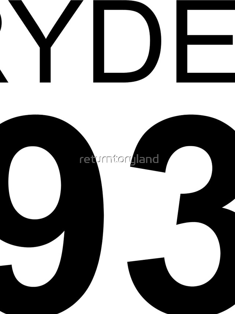 Rydel Lynch 1993 Baseball T-Shirt von returntoryland