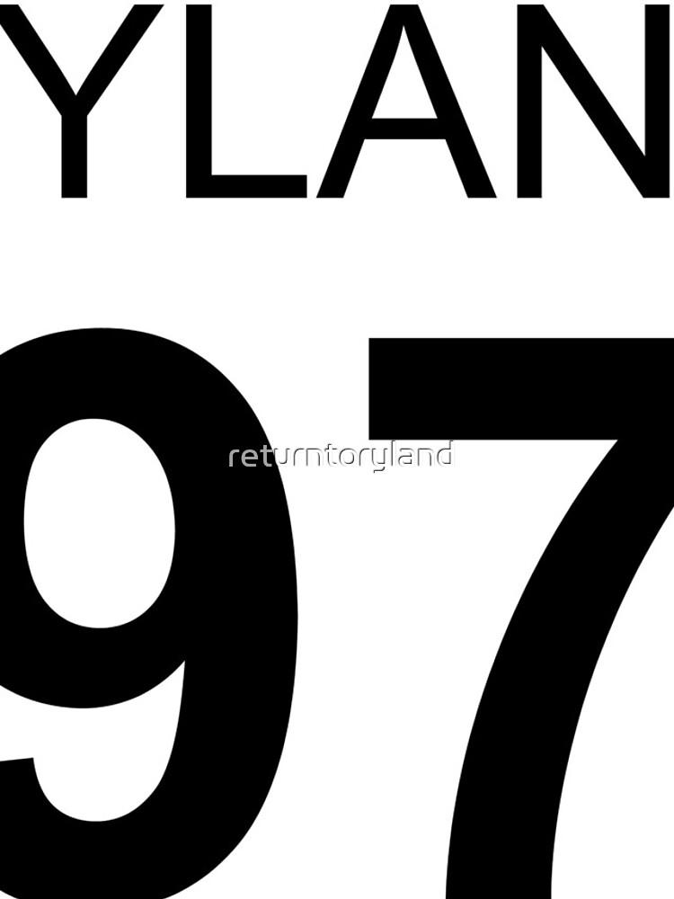 Ryland Lynch 1997 Baseball T-Shirt von returntoryland