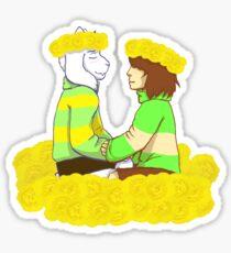 Two little princes Sticker