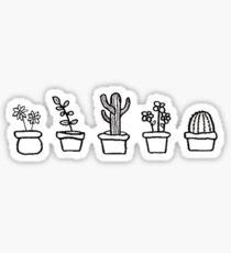 Süße Pflanzen Sticker