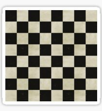 Grunge Checkerboard Sticker
