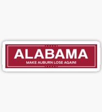 alabama trump Sticker