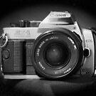 Canon Hybrid AE-1/ Rebel XT (F/DSLR) by Stephen Thomas