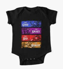 The Good, The Smart, The Bad, and The Hungry One Piece - Short Sleeve
