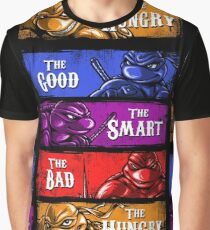 The Good, The Smart, The Bad, and The Hungry Graphic T-Shirt