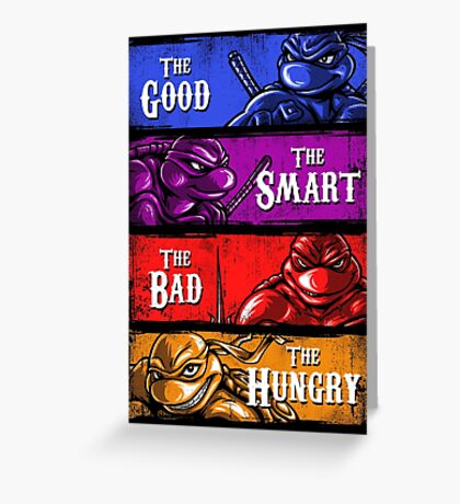 The Good, The Smart, The Bad, and The Hungry Greeting Card