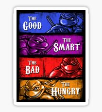 The Good, The Smart, The Bad, and The Hungry Sticker