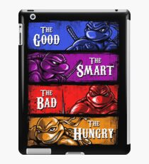 The Good, The Smart, The Bad, and The Hungry iPad Case/Skin
