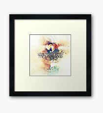 Everglow Framed Print