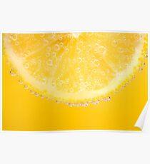 Sparkling Lemon Poster
