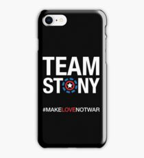 Team Stony - Love Not War iPhone Case/Skin