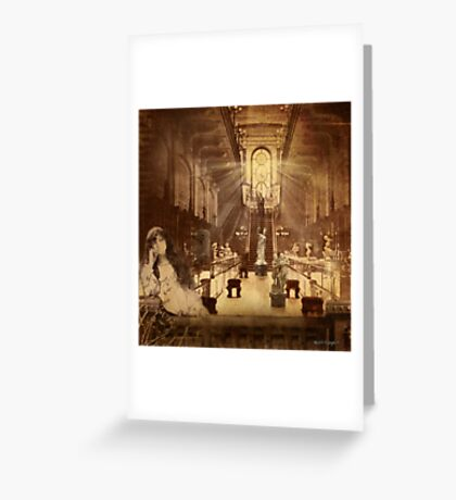 Languishing in the House of Desire Greeting Card