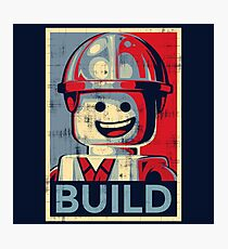 BUILD Photographic Print