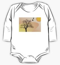 Desert Drawing Products One Piece - Long Sleeve