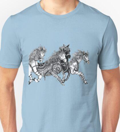 A toss of the rippled mane T-Shirt
