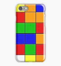 rubik cube texture iPhone Case/Skin