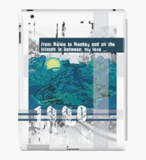 """Monkey Island's: """"From Melee to Monkey and all the islands in between, my love..."""" iPad Case/Skin"""