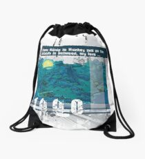 "Monkey Island's: ""From Melee to Monkey and all the islands in between, my love..."" Drawstring Bag"