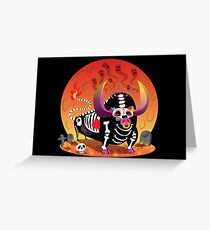 Bull of Death Greeting Card