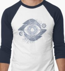 ODIN'S EYE Men's Baseball ¾ T-Shirt
