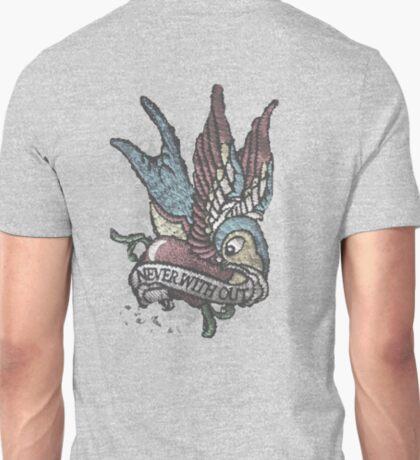 A TAT Worn Vintage Bird Tee T-Shirt
