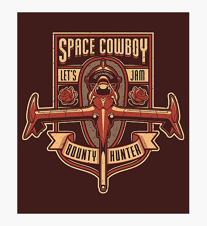 Space Cowboy - Bounty Hunter Photographic Print