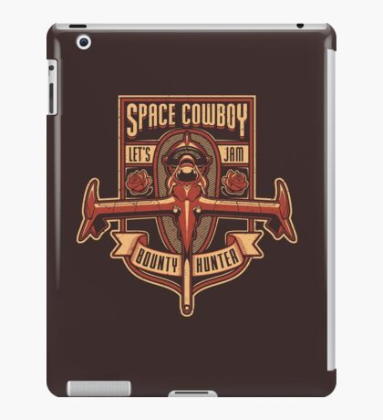 Space Cowboy - Bounty Hunter iPad Case/Skin