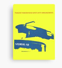 Stereolab- Transient Random-Noise Bursts With Announcements Canvas Print