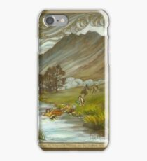 Midgewater Marshes to the Weather Hills iPhone Case/Skin