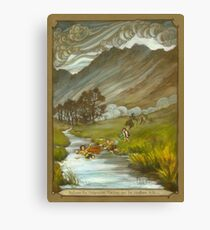 Midgewater Marshes to the Weather Hills Canvas Print