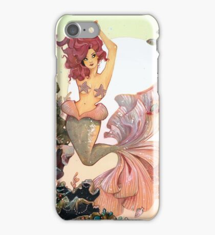 Cherry Mermaid iPhone Case/Skin