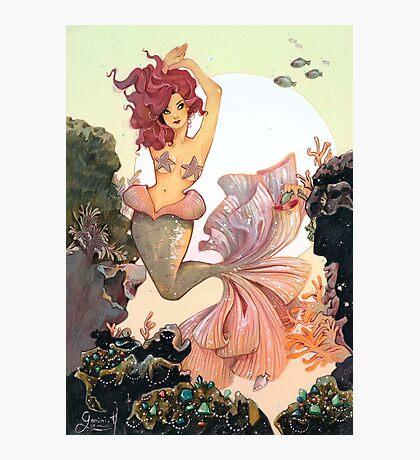 Cherry Mermaid Photographic Print