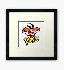 PINGAS : PARODY Framed Print