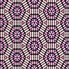 Pink and Black Floral Graphic - 2 of 2 (see description) by Ra12