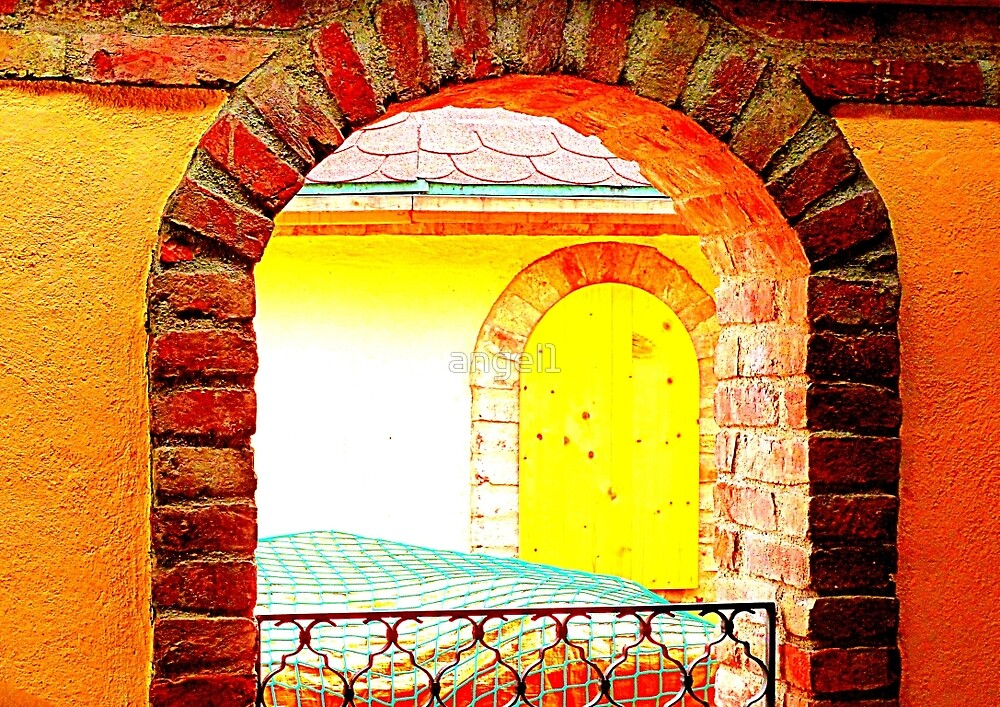 Mediterrenean Arches by ©The Creative  Minds