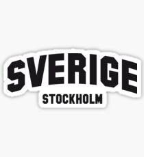 SVERIGE STOCKHOLM Sticker