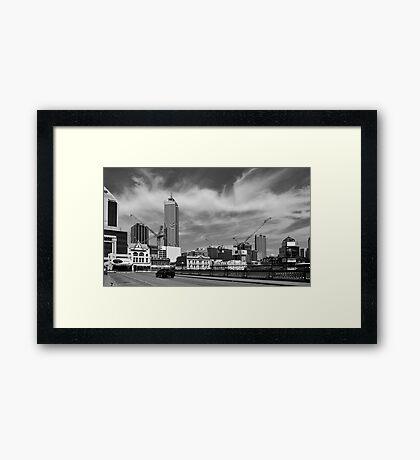 Horseshoe Bridge - Perth Framed Print