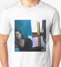 Mirror, 2011, 100-100cm, oil on canvas T-Shirt