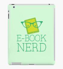 e-book nerd iPad Case/Skin
