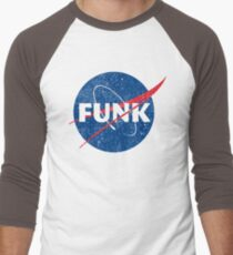 Space Funk - Distressed Men's Baseball ¾ T-Shirt