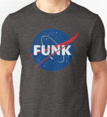 Space Funk - Distressed Unisex T-Shirt