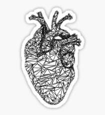 Wire Heart Sticker