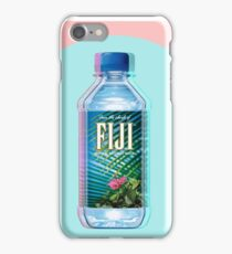 Fiji Water vaporwave  iPhone Case/Skin