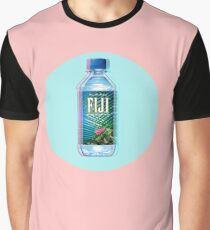 Fiji Water vaporwave  Graphic T-Shirt