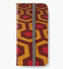 Übersehen Teppich iPhone Flip-Case/Hülle/Klebefolie