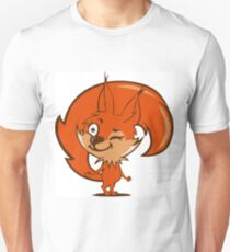 Little red squirrel T-Shirt