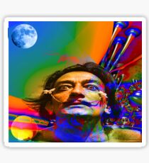Dream of Salvador Dali Sticker